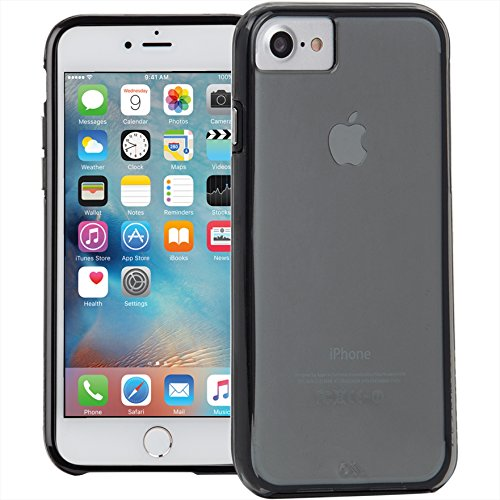 【米軍MIL規格標準準拠】 iPhone7 / 6s / 6 4.7 inch ケース Case-Mate 日本正規品 ハイブリッド タフ ネイキッド, スモーク / ブラック CM034672