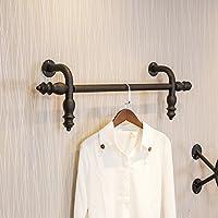 子供服店の壁に設置された棚、衣料品店のディスプレイラックの壁ハンガー、衣類ラック ( サイズ さいず : 120cm )