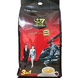 TRUNG NGUYEN チュングエン G7 16g×100袋入り インスタント ホット アイス コーヒー 3in1 ベトナムコーヒー [並行輸入品]