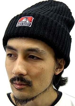(ベンデイビス) BEN DAVIS ニット帽 メンズ アクリル Free ブラック