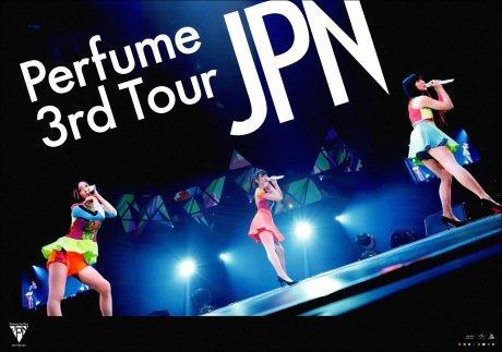 パフューム Perfume 3rd Tour JAPAN ポスター