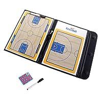 CUTICATE バスケットボールコーチングボード 作戦板 コーチング ボード 折りたたみ式