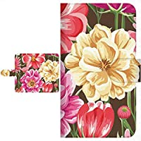 Ploom TECH プルームテック 専用 手帳型ケース フローラルフラワー 花柄 シリーズ 全面印刷 079