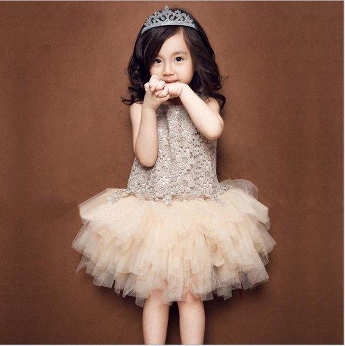 ツバメ--屋フォーマル ベビードレス ふわふわチュチュ 結婚式 子供ワンピース 女の子 女児 リボン...