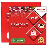 FLEXIROAM X SIMフィルム 【海外120か国以上対応 日本を含む】既存のSIMカードに張り付ける今までにないフィルムタイプ