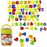 ゴシレ Gosear 80ピースかわいいカワイイ子供子供の手紙番号シンボル冷蔵庫冷蔵庫マグネットステッカー早期教育玩具誕生日クリスマスフェスティバルギフト