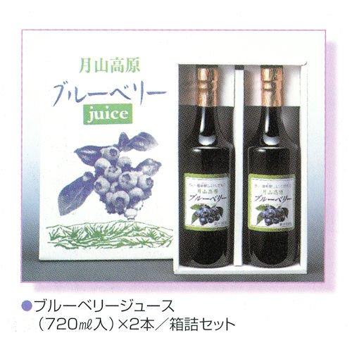 国産無農薬栽培 ブルーベリージュース 720ml2本セット