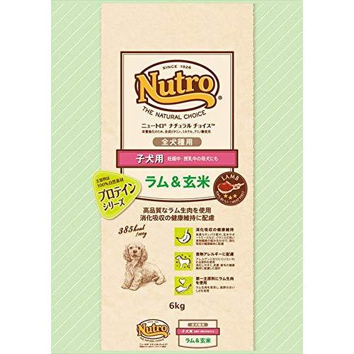 ニュートロ ナチュラルチョイス ラム&玄米 子犬用 全犬種用 6kg