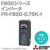 三菱電機 FR-F820-0.75K-1 ファン・ポンプ用インバータ FREQROL-F800シリーズ 三相200V (容量:0.75kW) (FMタイプ) NN