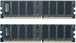 BUFFALO DD400-1Gx2