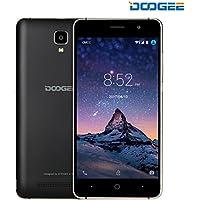 DOOGEE X10 SIMフリースマートフォン デュアル SIMフリー 5.0インチHD IPS スクリーン3G (au不可) Android 6.0 MT6570 8GB ROM 5MP 3360mAhバッテリー スマートフォン本体 ブラック
