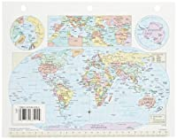Nystrom Cram US/World Notebook Maps - 8 1/2 x 11 inch - Set of 30 [並行輸入品]