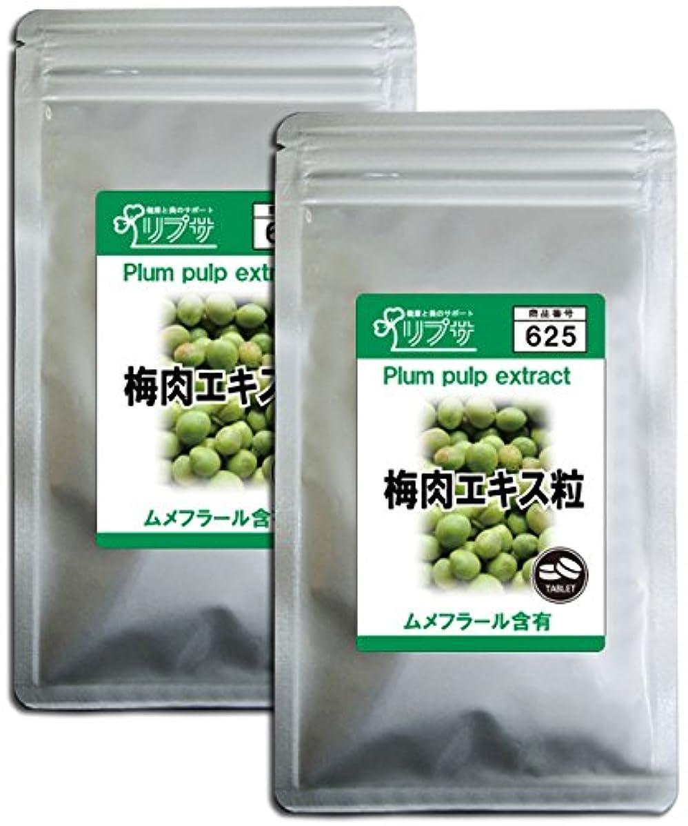 割り当てます揃える芽梅肉エキス粒 約3か月分×2袋 T-625-2