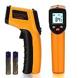 Best 放射温度計 - A Life 赤外線放射温度計 非接触 レーザークラス 2 デジタル温度測定器 ガンタイプで携帯型 Review