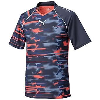 (プーマ)PUMA PFF TRG 半袖Tシャツ 654694 [メンズ] 01 ラバブラスト/トータルエクリプス SS