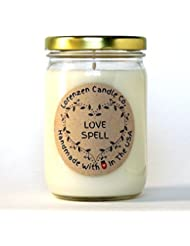 Love Spell Soy Candle 12oz [並行輸入品]