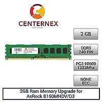 2GB RAMメモリfor ASRock b150mhdv/d3(ddr310600nonECC) マザーボードメモリアップグレードby US Seller