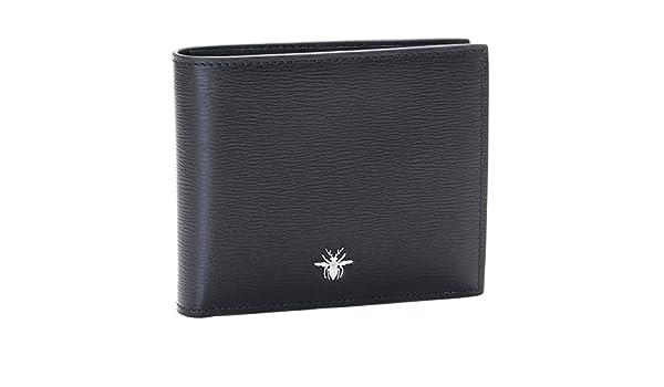 a2d923d827d4 Amazon | DIOR HOMME(ディオール・オム) 財布 メンズ LEATHER 2つ折り財布 ブラック 2ABBC027-XXT-00N [ 並行輸入品] | 財布