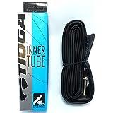 タイオガ TIOGA インナーチューブ 仏式バルブ (フレンチバルブ) (自転車用チューブ) TIOGA Inner Tube (French Valve) 700x28~32C・48mm(TIT12200)ロード クロスバイク ピストバイク