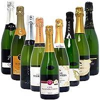 本格シャンパン製法だけの厳選泡9本セット((W0S928SE))(750mlx9本ワインセット)