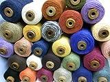 お楽しみ袋(綿・麻、混)(小巻セット) お手元にいろいろな糸を揃えたい方必見!