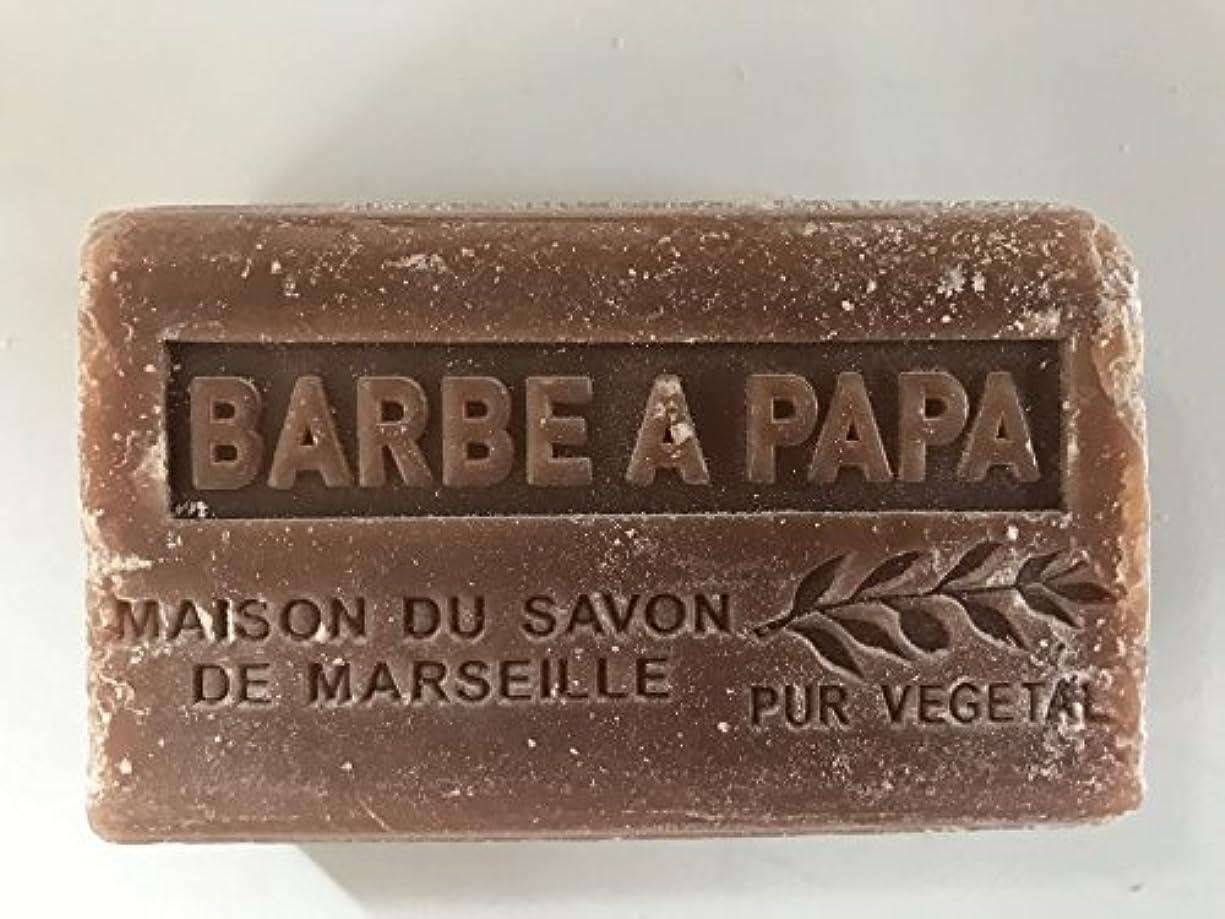 抜け目のない部族タイルSavon de Marseille Soap Cotton Candy Shea Butter 125g
