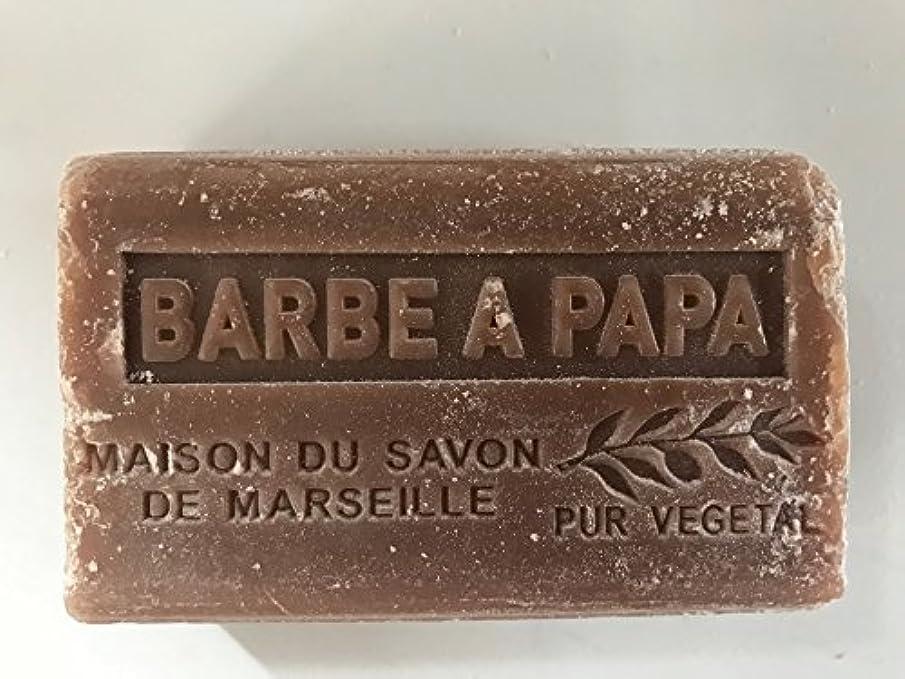 ペンフレンド警察署剃るSavon de Marseille Soap Cotton Candy Shea Butter 125g