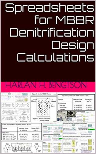 Spreadsheets for MBBR Denitrification Design Calculations