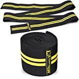 MDBuddy Weight Lifting Knee Wraps Pressurized Winding Band