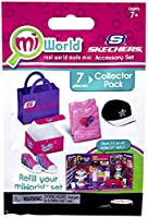 [MiWorld]MiWorld Mall Sketchers Accessory Set Collector's Pack Twinkle Toes Shoes, Shirt and Hat 3267019 [並行輸入品]