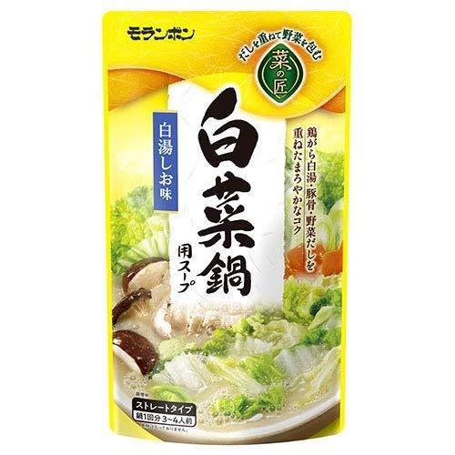 菜の匠 白菜鍋用スープ 白湯しお味(750g) フード フード その他 フード その他 k1-4902807380223-ak