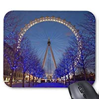 UOOPOO London Eye Mouse Pad Rectangle Non-Slip Rubber Personalized Mousepad Gaming Mouse Pads