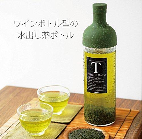 HARIO (ハリオ) フィルターイン ボトル 750ml レッド FIB-75-R