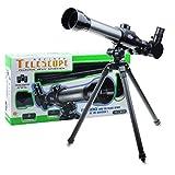 Best 初心者望遠鏡 - travet 20x 30x 40x KIDS望遠鏡、初心者telescops、初期開発科学おもちゃライト三脚、簡単操作 Review