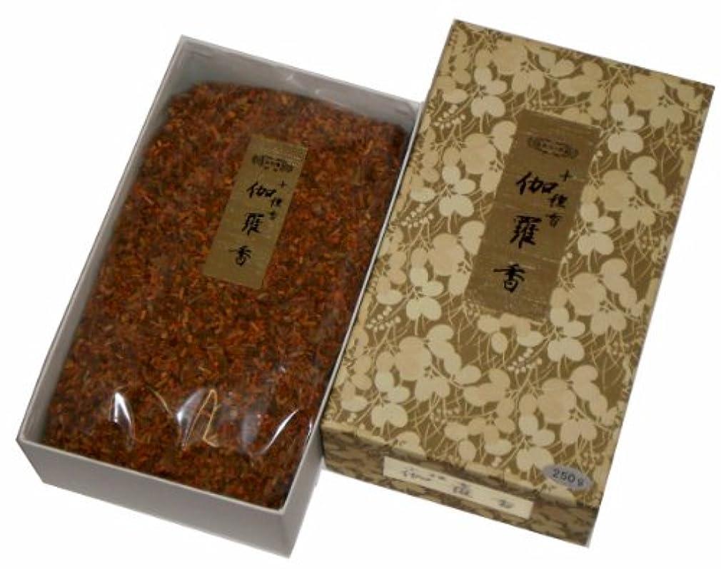 マングル先に焼く玉初堂のお香 伽羅香 250g #532