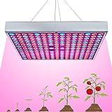 LED Grow Light for Indoor Plants Growing Lamp 225 LEDs 45W UV IR Red Blue Full Spectrum Plant Lights Bulb Panel for Hydroponics Greenhouse Seedling Veg and Flower by Venoya