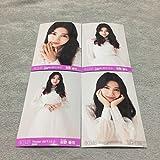 AKB48 2017年 12月 December 福袋当選品 月別 復刻版 生写真 4種コンプ ? 共通ポーズ 田野優花