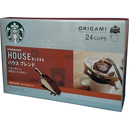 スターバックス オリガミ パーソナルドリップ コーヒー ハウス ブレンド 24袋