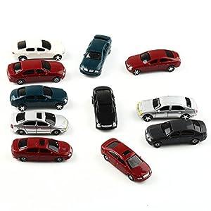 VERY100 自動車 カー モデルカー ミニカー ランダム 50台セット 情景コレクションザ・鉄道模型・ジオラマ・建築模型・教育・写真に 1/100用 長5cm モデル