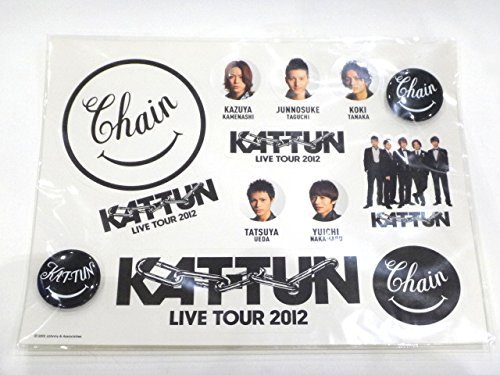 KAT-TUN [公式グッズ] Chain 缶バッチ付きステ...