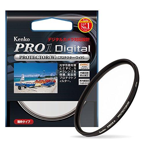 Kenko レンズフィルター PRO1D プロテクター (W) 62mm レンズ保護用 252628