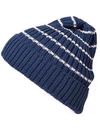 (カジュアルボックス)CasualBox BROSSボーダービーニーワッチ 6色 フリーサイズ ニット帽 帽子 サマーニット帽 ニットキャップ キャップ Chamr チャーム