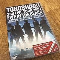 東方神起2rd LIVE TORE FIVE IN THE BLACK
