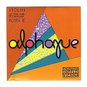 Alphayue アルファユー ヴァイオリン弦 E線 1/4 スチールコア/スズメッキ AL01 1/4