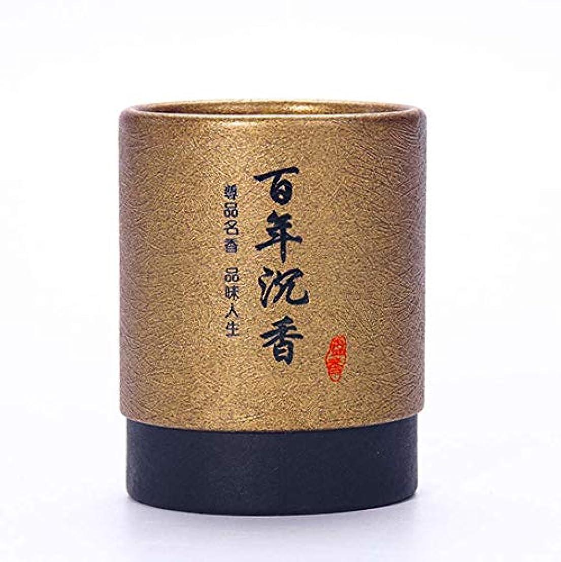 マウンド傾向肌HwaGui お香 2時間 盤香 渦巻き線香 優しい香り 48巻入 沉香(百年沈香)
