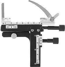 Yosoo 可動キャリパー スケール 顕微鏡の部品 アクセサリー 顕微鏡アタッチ可能なメカニカル ステージ