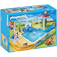 Playmobil(プレイモービル) 子供用プールと滑り台&ジャグジー/Children's Pool with Whale Fountain【5433】