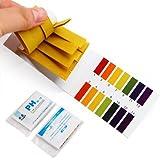 Sungpunet 2 Packs PH Indicator Strips - Short Range PH Test Paper Litmus Strips
