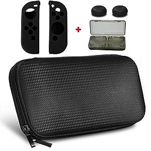 yztree Nintendoスイッチ携帯ケース、yztree NintendoスイッチキャリーゲームトラベラーデラックスTravel Case with Screen Protectorとソフトカードfor Nintendoスイッチ2017