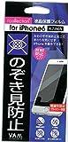 icollection 液晶保護フィルム for iphone6 4.7インチのぞき見防止(反射防止すべすべタイプ)